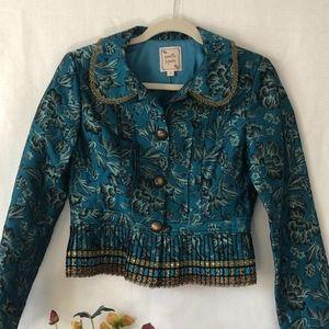 Nanette Lepore Teal Jacket